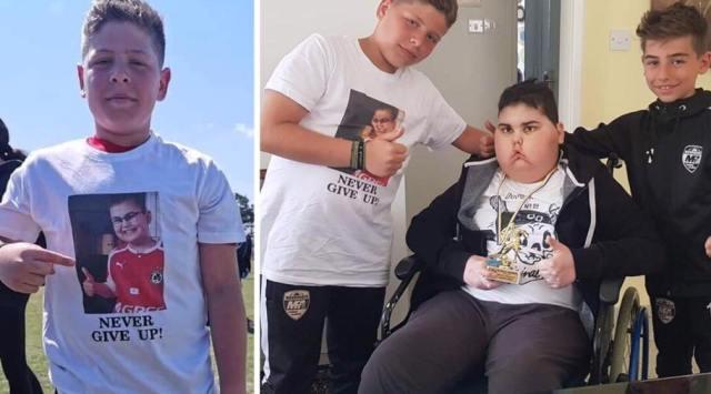 Η κίνηση ανθρωπιάς του 13χρονου Κυριάκου Παναγή της Ακαδημίας Μαυρουδή που αξίζει προβολής και πολλών  συγχαρητηρίων!!!