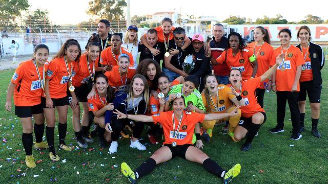Κυπελλούχος Κύπρου Γυναικών η Barcelona FA Women! Εικόνες