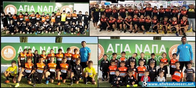 Επίσκεψη στο Ποδοσφαιρικό Σχολείο της ΑΓΙΑ ΝΑΠΑ Soccer School: Βίντεο & Εικόνες