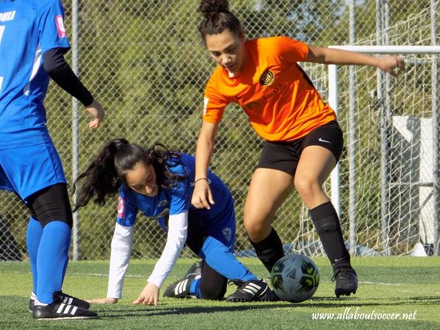Ανόρθωση και Barcelona F.A. διαφήμισαν το ποδόσφαιρο στο ντέρμπυ του Πρωταθλήματος Κ15 Κοριτσιών της Κ.Ο.Π. Video & Εικόνες