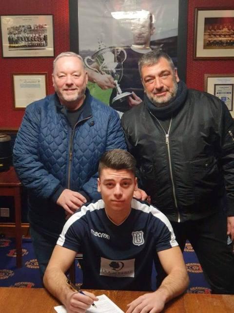 Ο 17χρονος Ανδρέας Πατσαλίδης από την Ακαδημία ΟΛΥΜΠΙΚΟ στην Dundee F.C!