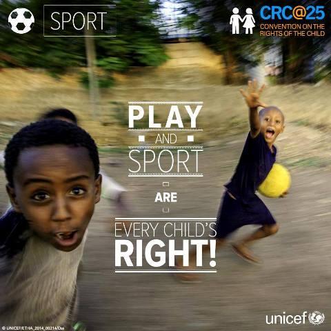 Τα Δικαιώματα των παιδιών στον αθλητισμό!