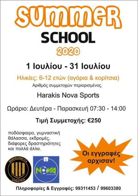 BARCELONA F.A. SUMMER SCHOOL: Το πιο Δημιουργικό και Διασκεδαστικό Καλοκαιρινό Σχολείο για τα Παιδιά!
