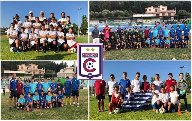 Έλαμψαν τα αστέρια της Champions The Soccer Academy στο Καλοκαιρινό Τουρνουά του ΔΟΠΑΡ στη Ρόδο!