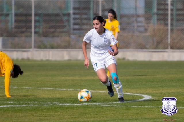 """Μαρία Παναγιώτου (Apollon Ladies): """"The Next Big Thing"""" του Κυπριακού Γυναικείου Ποδοσφαίρου"""