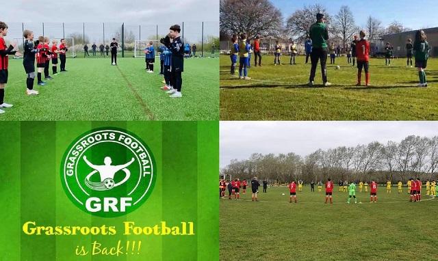 Ρίγη συγκίνησης και  χειροκρότημα διαρκείας κατά την έναρξη των Παιδικών Πρωταθλημάτων Grassroots στην Αγγλία!!! Ας παραδειγματιστούμε…