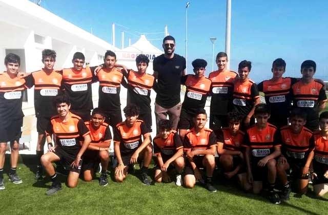 Επίσκεψη έκπληξη του Fabiano Ribeiro στη Σχολή Ποδοσφαίρου Αγίας Νάπας